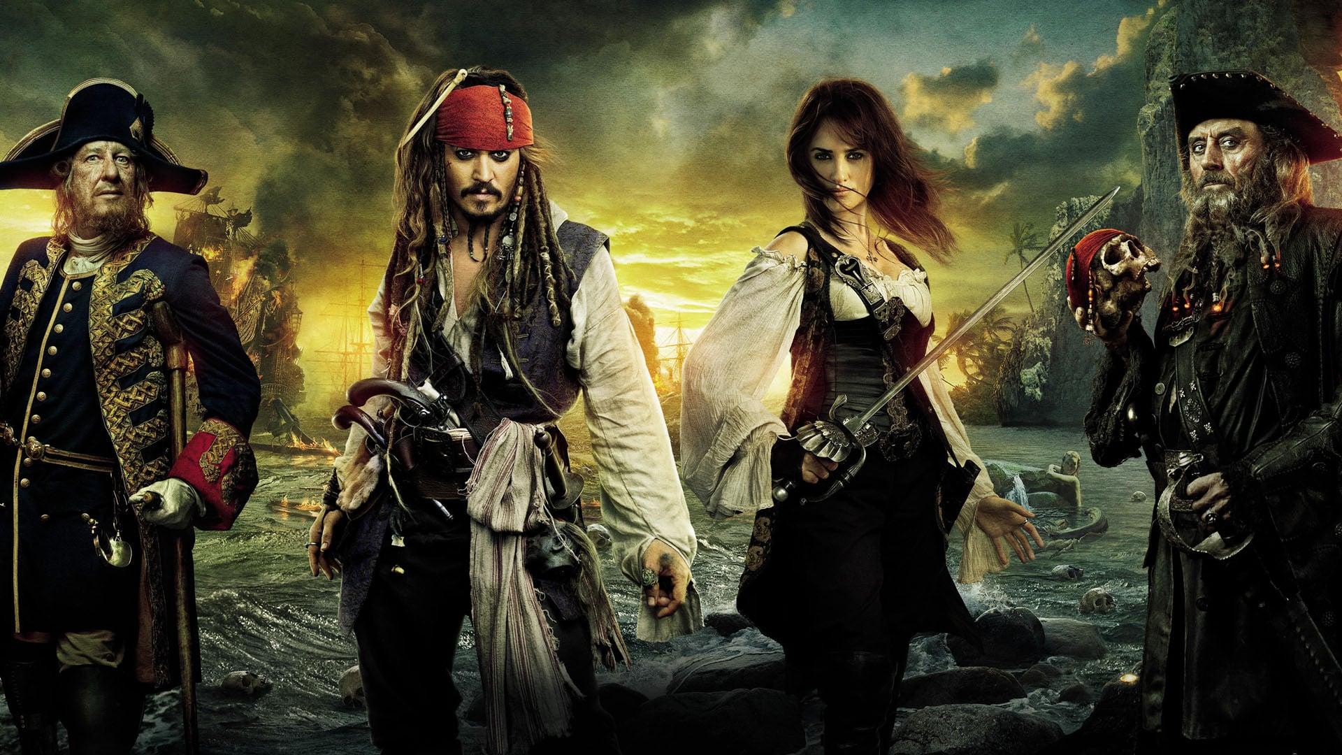 Piratas Do Caribe Navegando Em Aguas Misteriosas